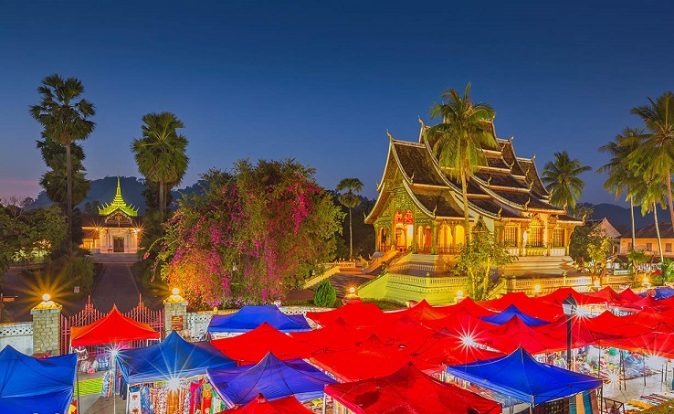The ancient town of Luang Prabang - cultural infusion at its best