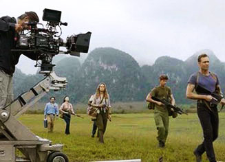 Behind the scenes of Hollywood