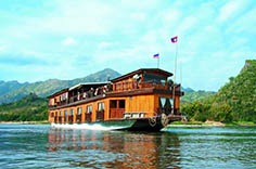 Discover Thailand & Laos via the cruise