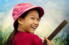The smile of Vietnam