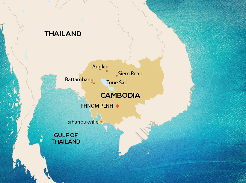 Travel to Cambodia | Cambodia tours & holidays