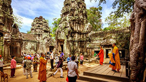 CAMBODIA- A SAFE DESTINATION FOR TOURISTS