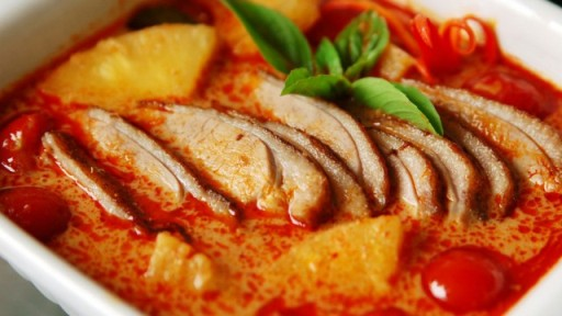 Top must try food to when travel to cambodia what to eat during less spicy than the curries of thailand khmer red curry also contains a coconut milk base without the added ingredient of chilies forumfinder Gallery