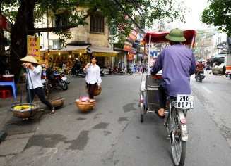 Hanoi City and Countryside Life Combine