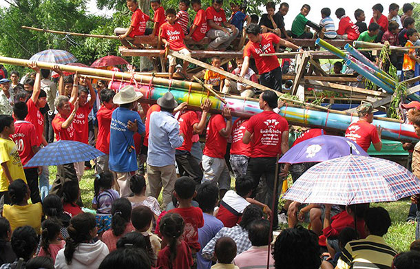 Rocket Festival or Boun Bang Fai